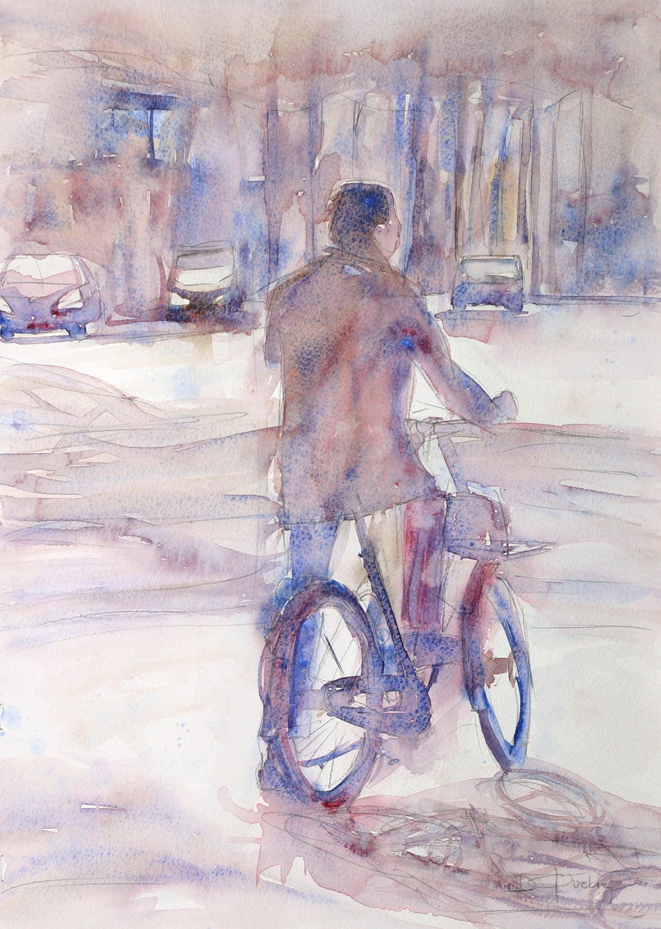 Octobre 2015 - Le cycliste